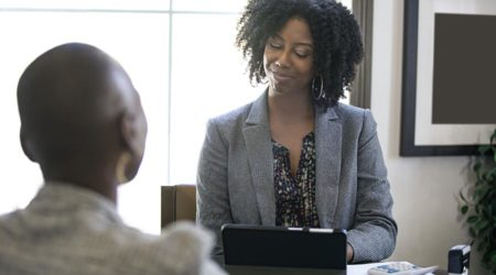 Black Female Businesswomen With Problems At Work